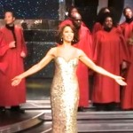 Gospel Choir Backs Whitney Houston Wax Figure in London (Watch)