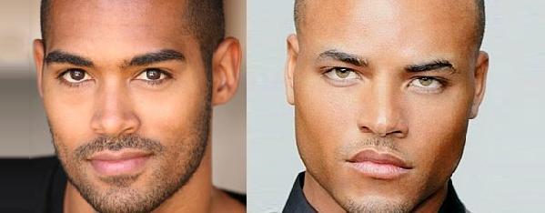 Black actors on Y&R