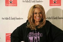 Claudette Robinson on the Red Carpet