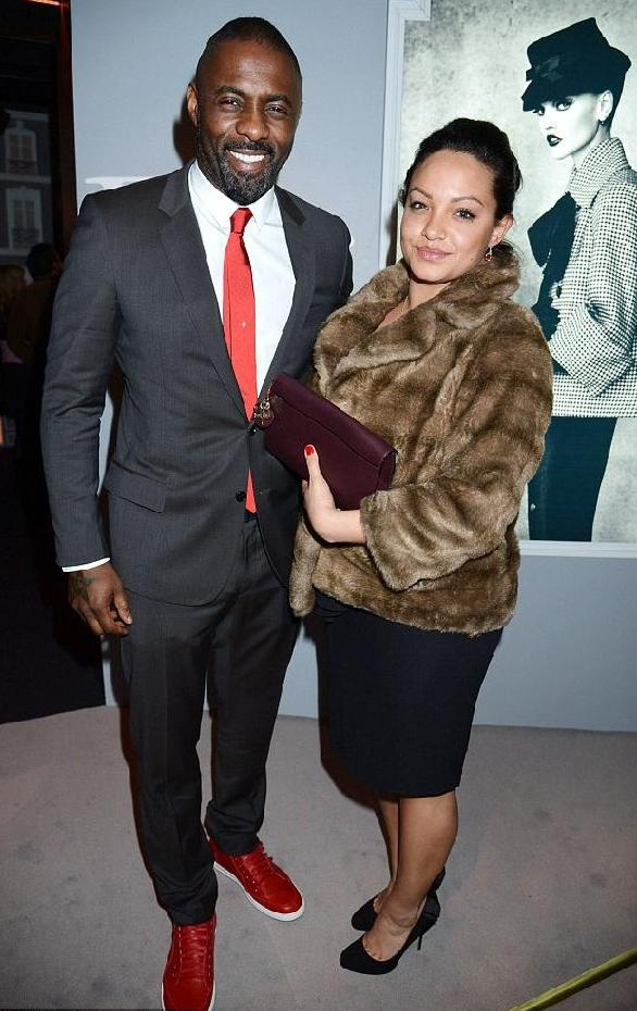 Idris Elba and girlfriend