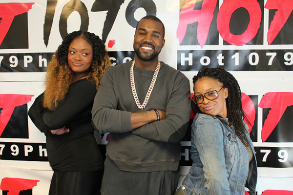 Kanye West Hot 107.9 Interview