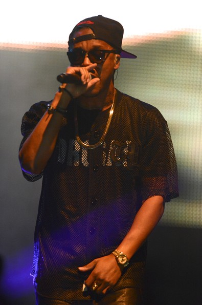 Artist Lupe Fiasco performs during his 'Tetsuo and Youth Preview' tour at War Memorial Auditorium on November 3, 2013 in Nashville
