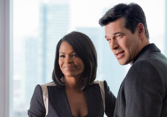 "Nia Long and Eddie Cibrian are love interests in ""The Best Man Holiday"""