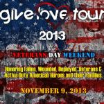 Veteran's Day Weekend 'Give Love Tour' to Honor Military and Families