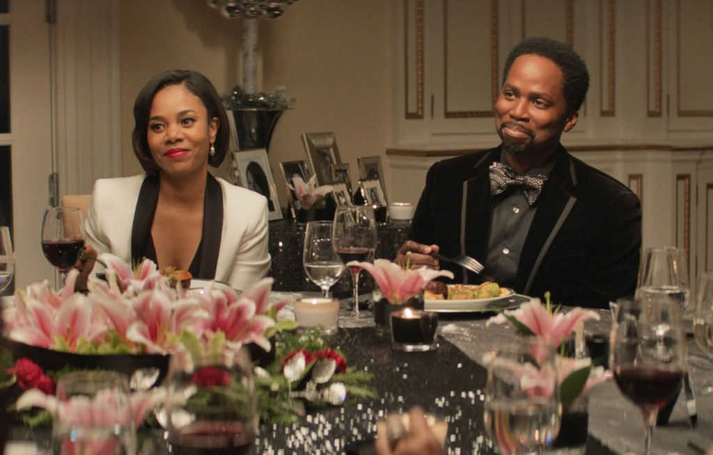 """Regina Hall and Harold Perrineau in """"The Best Man Holiday"""""""