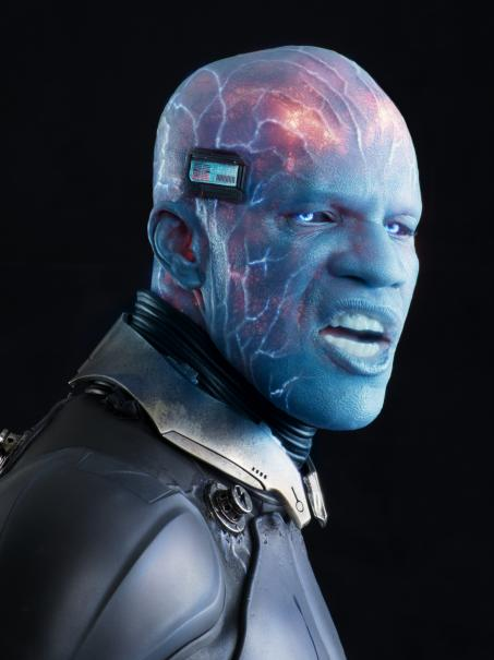 "Jamie Foxx as Electro in ""The Amazing Spider-Man 2"""