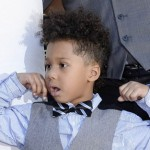 J-Hud's Son 'Boss Baby' In Charge of Holiday Decorating