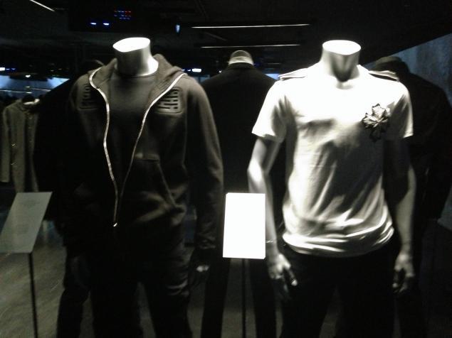 "Part of Jay Z's ""New York Holiday"" display at Barneys"