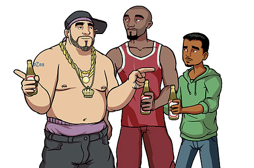 """""""Chozen"""" - a new series on the FX Channel set to debut in January 2014."""