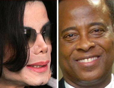 conrad murray & michael jackson