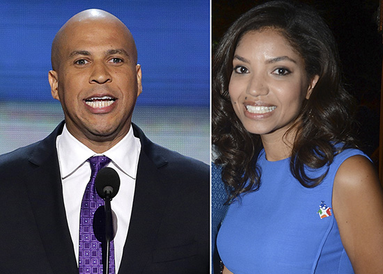 Cory Booker & Bianca Levin