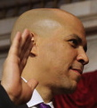 cory booker sworn in
