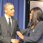 Former EURweb Contributor Daphne Bradford Honored at White House (Photos)