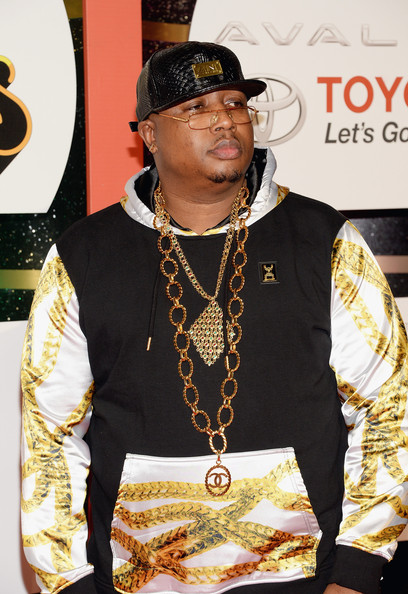 Rapper E-40, who turns 46 today, attends the Soul Train Awards 2013 at the Orleans Arena on Nov. 8, 2013 in Las Vegas