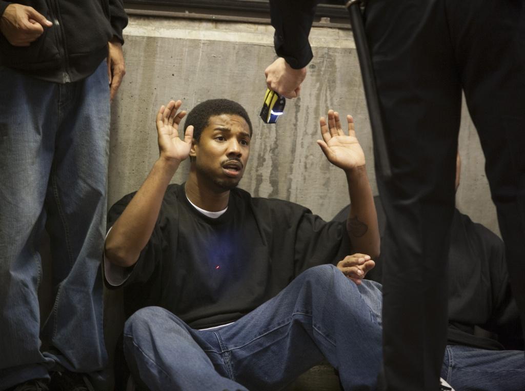 "Michael B. Jordan in ""Fruitvale Station."""