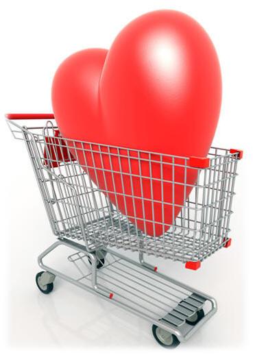heart in cart