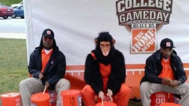 "Home Depot tweet for ""College Game Day"""