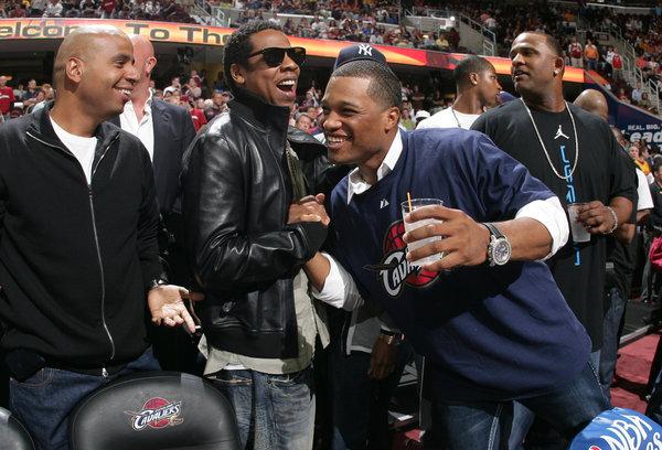 Jay Z and Robinson Cano
