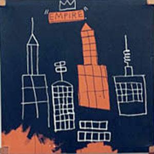 "Jean-Michel Basquiat painting ""Mecca"""