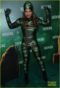 Christina Milian at the 3rd Annual Midori Green Halloween Party