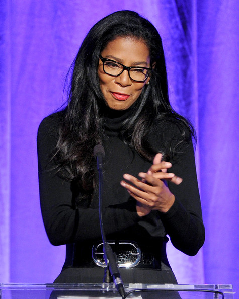 Author/producer Judy Smith speaks onstage during Variety's 5th Annual Power of Women event presented by Lifetime at the Beverly Wilshire Four Seasons Hotel on October 4, 2013 in Beverly Hills