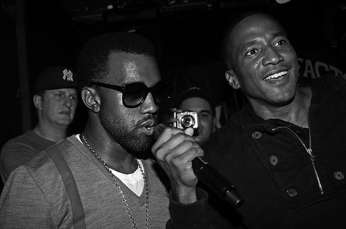 kanye west and qtip