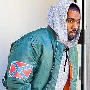 kanye west (confederate flag - jacket1)