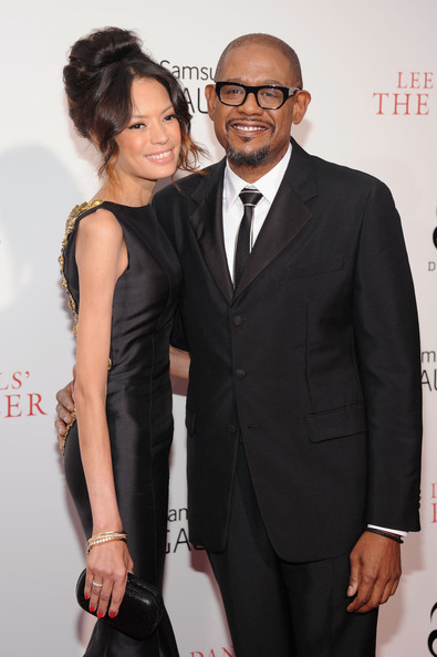 "Actor Forest Whitaker (R) and Keisha Nash Whitaker attend Lee Daniels' ""The Butler"" New York Premiere at Ziegfeld Theater on August 5, 2013 in New York City"