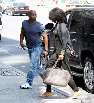 Tim Witherspoon and Kelly Rowland
