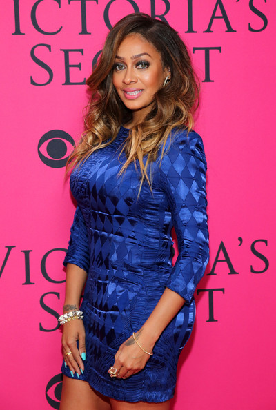 La La Anthony attends the 2013 Victoria's Secret Fashion Show at Lexington Avenue Armory on November 13, 2013 in New York City