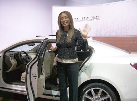 Product Consultant Miyosha knows the Buick LaCrosse inside and out