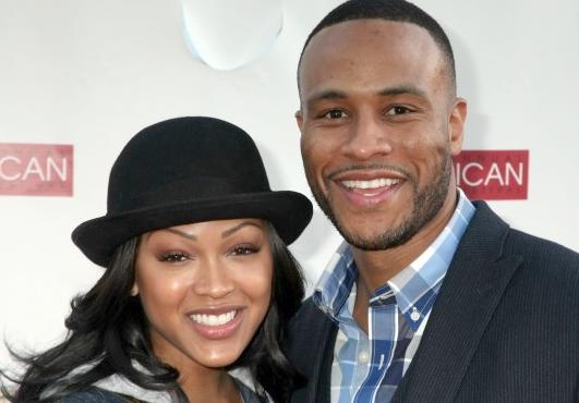 """Actress Meagan Good and husband, Devon Franklin, co-host the pre-taped, two hour variety program, """"One Christmas"""""""
