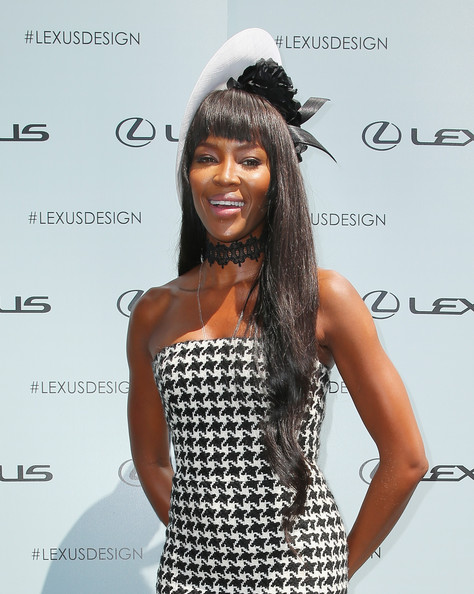 Naomi Campbell attends the Lexus Design Pavilion on Victoria Derby Day at Flemington Racecourse on November 2, 2013 in Melbourne, Australia
