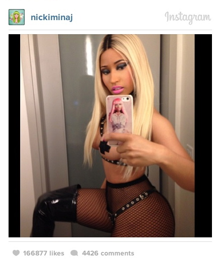 nicki minaj side