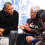 Obama Visits Group Fasting for Immigration Reform (Pics)