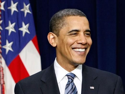 obama (smiling)