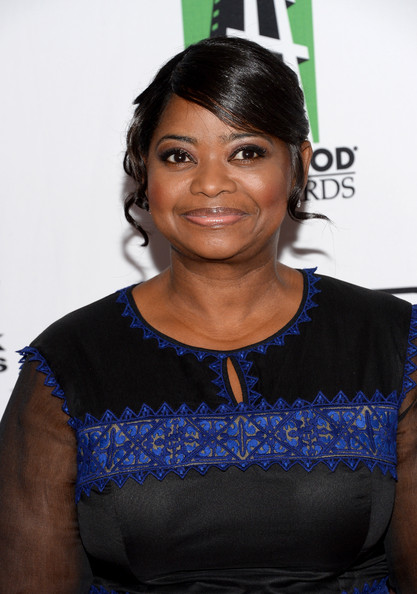 Actress Octavia Spencer arrives at the 17th annual Hollywood Film Awards at The Beverly Hilton Hotel on October 21, 2013 in Beverly Hills