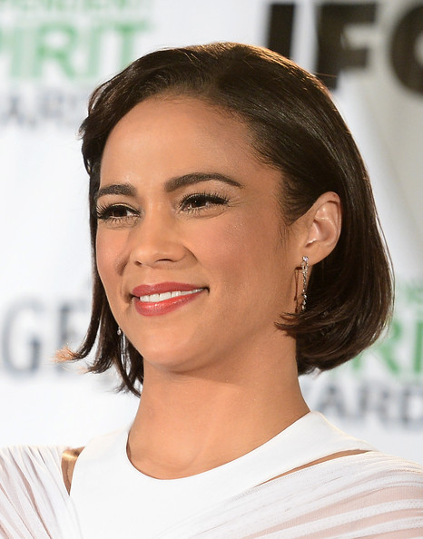 Actress Paula Patton attends the 2014 Film Independent Spirit Awards Nominations Press Conference at W Hollywood on November 26, 2013 in Hollywood