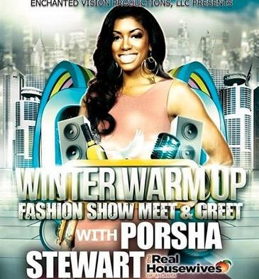 porsha stewart - winter warm up promo