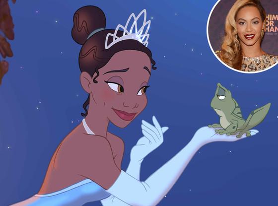 princess tiana & beyonce