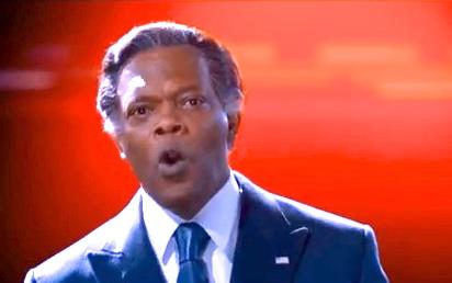 """Samuel L. Jackson in """"Robocop"""""""