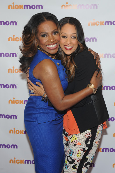 Instant Mom's Tia Mowry-Hardrict (R) and Sheryl Lee Ralph, Wednesday September 25, 2013 in New York City.