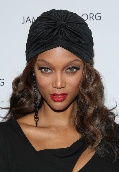 Model Tyra Banks is 39 today