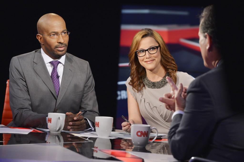 """Hosts Van Jones and S.E. Cupp on CNN's """"Crossfire"""""""