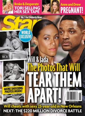 will smith cheating star mag