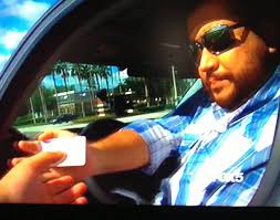 George Zimmerman in Cocoa, Fla. as he was stopped a second time for speeding since his acquittal