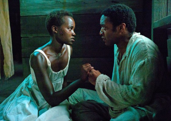 "Lupita Nyong'o and Chiwetel Ejiofor in ""12 Years a Slave"""