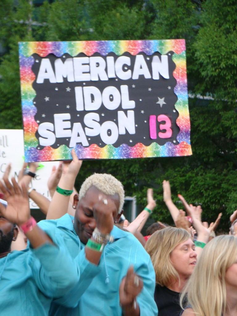 """American Idol"" season 13 auditions at Georgia's Gwinnett Arena (July 26, 2013)"