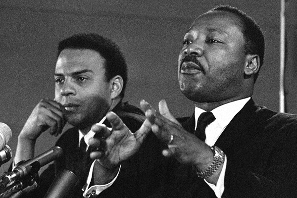 Andrew Young and MLK
