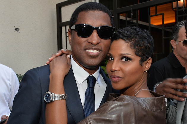 """Toni Braxton attends a ceremony honoring Kenny """"Babyface"""" Edmonds with the 2508th Star on the Hollywood Walk of Fame on October 10, 2013 in Hollywood."""